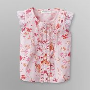 Toughskins Infant Girl's Pintuck Top - Floral at Sears.com