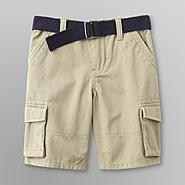 Toughskins Toddler Boy's Belted Cargo Shorts at Sears.com