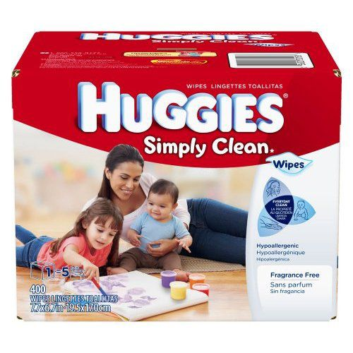 Simply Clean Baby Wipe Refill