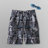 ZeroXposur Boy's Swim Trunks & Goggles - Camouflauge at Sears.com