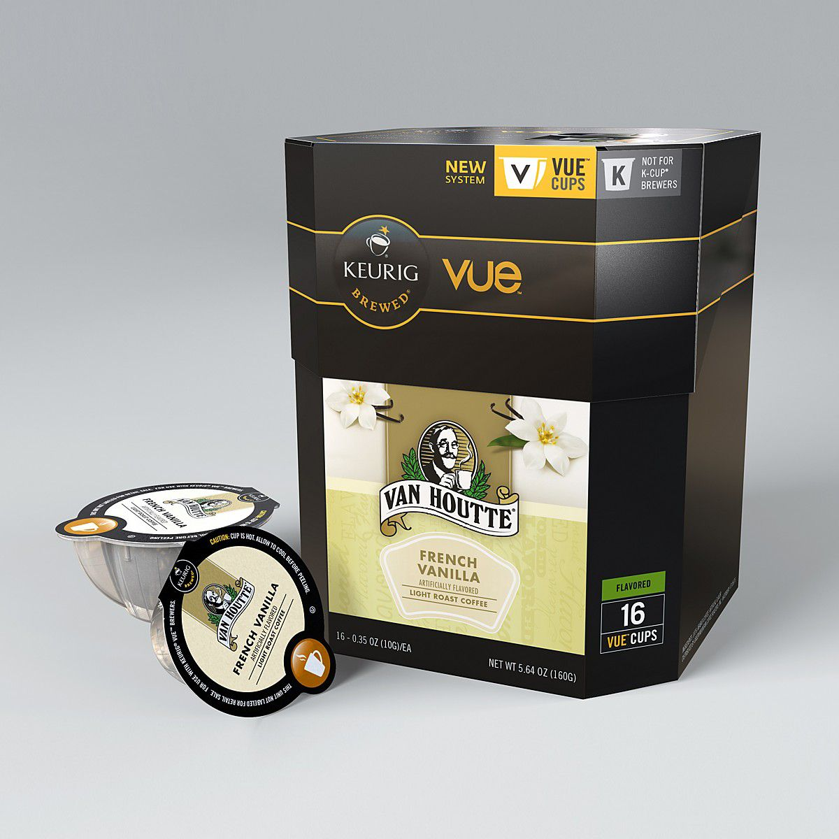 Van Houtte French Vanilla Coffee Vue Cups