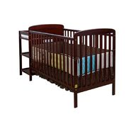Dream On Me 2 in 1 Full Size Convertible Crib and Changing Table Combo-Cherry at Sears.com