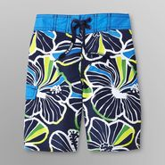 Joe Boxer Boy's Swim Trunks - Tropical at Sears.com