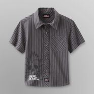Genuine Dickies Toddler Boy's Shirt - Plaid/Skateboard at Kmart.com