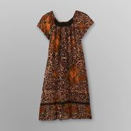 Loungees Women's Lounger Dress - Leopard Print at Sears.com