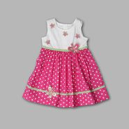 WonderKids Infant Girl's Dotted Butterfly Sleeveless Sundress at Kmart.com