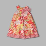 WonderKids Infant & Toddler Girl's U-neck Floral Plaid Sundress at Kmart.com