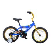 Titan Champion Blue and Gold Boys 16-Inch BMX Bike with Training Wheels at Kmart.com