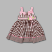 WonderKids Infant & Toddler Girl's Sleeveless Gingham Sundress at Kmart.com