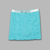 Holiday Editions Girl's Eyelash Ruffle Skort at mygofer.com