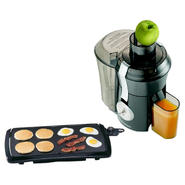 Hamilton Beach Big Mouth Juice Extractor & Griddle Bu...
