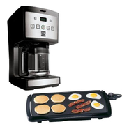 Presto Cool Touch Griddle & Kenmore Coffee Maker Bund...
