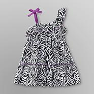 WonderKids Infant & Toddler Girl's Dress - Zebra Print at Kmart.com