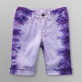Route 66 Girl's Bermuda Shorts - Tie-Dye at mygofer.com