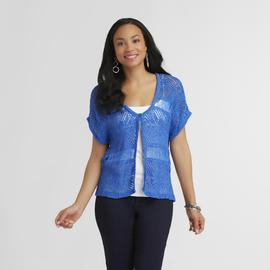 Route 66 Women's Drop-Stitch Cardigan at Kmart.com