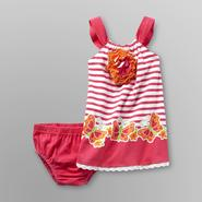 WonderKids Infant & Toddler Girl's Rosette Sundress Set at Kmart.com