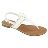 SM New York Women's Sandal Mystik - White at Sears.com