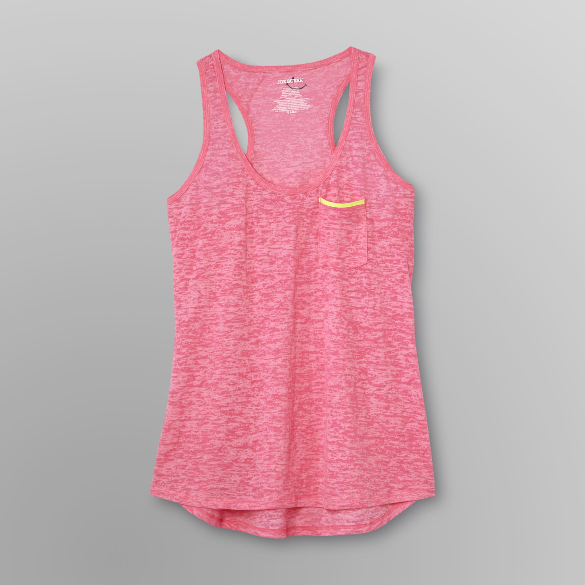 Joe Boxer Women's Racerback Tank Top - Burnout at Kmart.com