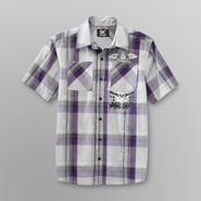 SK2 Boy's Woven Graphic Shirt - Griffin at Kmart.com