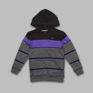 SK2 Boy's Long Sleeve Hooded Striped Sweater at Kmart.com