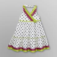 WonderKids Infant & Toddler Girl's Ribbon Dress - Polka Dot at Kmart.com