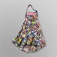 Piper Baby Infant Girl's Halter Dress - Neon Animal Print at Kmart.com
