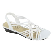 Laura Scott Women's Sandal Louise - White at Sears.com
