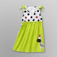WonderKids Infant & Toddler Girl's Knit Sundress - Zebra at Kmart.com
