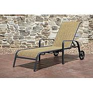 Agio Panorama Sling Chaise Lounge with Wheels at Sears.com