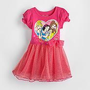 Disney Baby Princesses Infant & Toddler Girl's T-Shirt Dress at Kmart.com