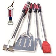 Craftsman 4 pc. Barbecue Gift Set with Bonus Bottle Opener at Craftsman.com