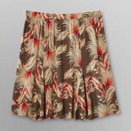 Jaclyn Smith Women's Plus Crepe Skirt - Floral Print at Kmart.com