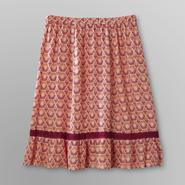Jaclyn Smith Women's Crepe Skirt - Sun Print at Kmart.com