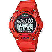 Casio Mens Water Resistance Red Digital LED Watch with Round Dial at Sears.com