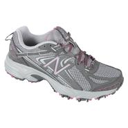New Balance Women's 411V2 Trail Running Athletic Shoe Wide Width - Grey/Pink at Sears.com