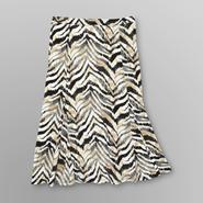 Jaclyn Smith Women's Knit Skirt - Tiger Print at Kmart.com