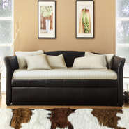Oxford Creek Flare Arms Daybed with Trundle in Dark Brown at Sears.com