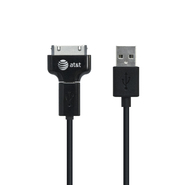 At&t Charge & Sync Micro USB & Apple 30PIN Cable for an Ipod, iPhone, Ipad, Blackberry, Android, Tablet, Smartphone, MP3 (SC01 Dual) at Kmart.com
