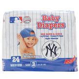 Braco Manufacturing NEW YORK YANKEES SUPREME DISPOSABLE BABY DIAPERS - Size 3 at mygofer.com