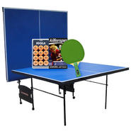 Sportspower Ping Pong Table with Racket & Ball Set Bu...