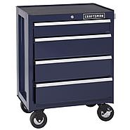 Craftsman 4-Drawer Ball-Bearing Bottom Chest - Midnight Blue at Craftsman.com