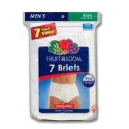 Fruit of the Loom Men's Brief - White 7 Pack at Kmart.com