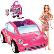 Barbie Power Wheels, BARBIE� Doll & Purse Bundle     ...