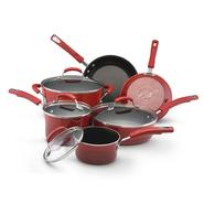 Rachael Ray Hard Enamel Cookware 10pc set (2-tone Red) at Sears.com