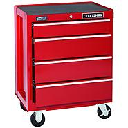 Craftsman 4-Drawer Red Ball-Bearing GRIPLATCH® Bottom Chest - Limited Edition at Craftsman.com