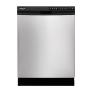 "Frigidaire Gallery 24"" Built-In Dishwasher w/ Nylon Racks - Stainless Steel at Sears.com"