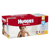 Huggies Snug & Dry Diapers, Size 3, 132ct at mygofer.com