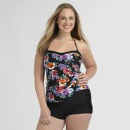 Jaclyn Smith Women's Plus Boy Short - Floral at Kmart.com