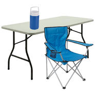 Deluxe Arm Chair with Table & Cooler Bundle          ...