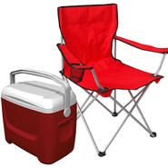 Deluxe Arm Chair & Cooler Bundle                     ...